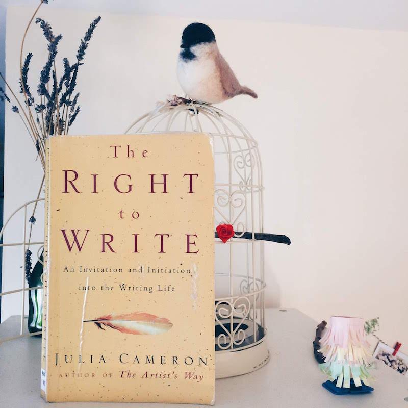 Julia Cameron The right to Write